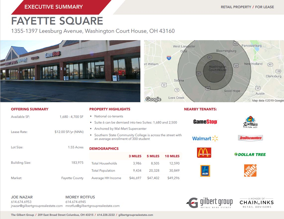 Front of building / Gilbert Group Demographics
